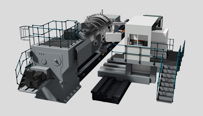 Mill-turning machine ProfiTurn M in two-bed design